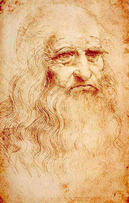 Ο Λεονάρντο ντα Βίντσι (Leonardo da Vinci, 15 Απριλίου 1452 — 2 Μαΐου 1519) ήταν Ιταλός αρχιτέκτονας, ζωγράφος, γλύπτης, μουσικός, εφευρέτης, μηχανικός, ανατόμος, γεωμέτρης, παλαιοντολόγος και γιατρός, που έζησε την περίοδο της Αναγέννησης. Αυτοπροσωπογραφία