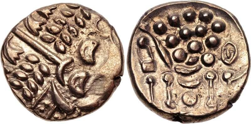 Νόμισμα των Δουροτρίγων (Durotriges), Βρετανία, 65 π.Χ. - 45 μ.Χ.