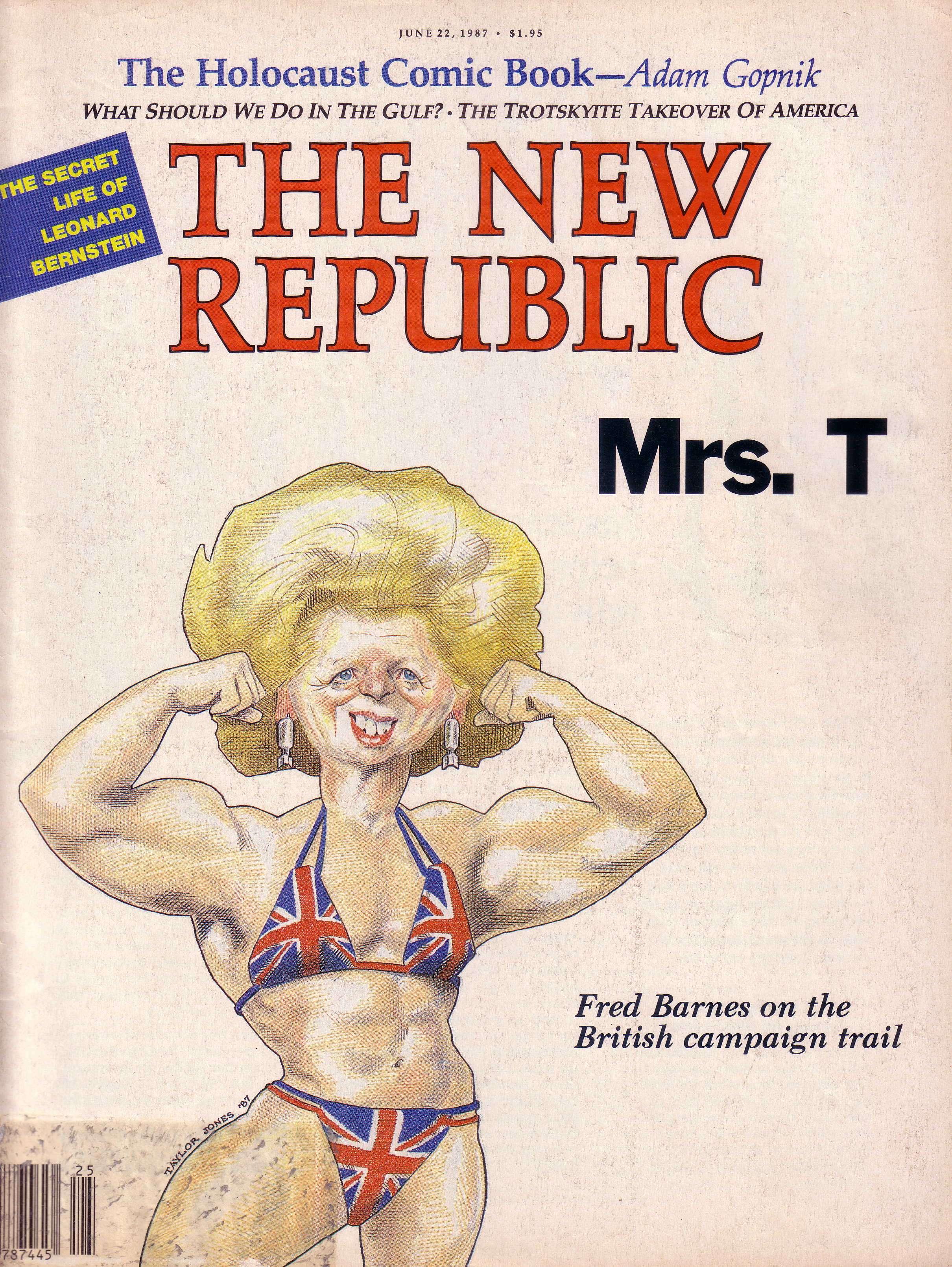 Εξώφυλλο του 1987 με την Μάργκαρετ Θάτσερ