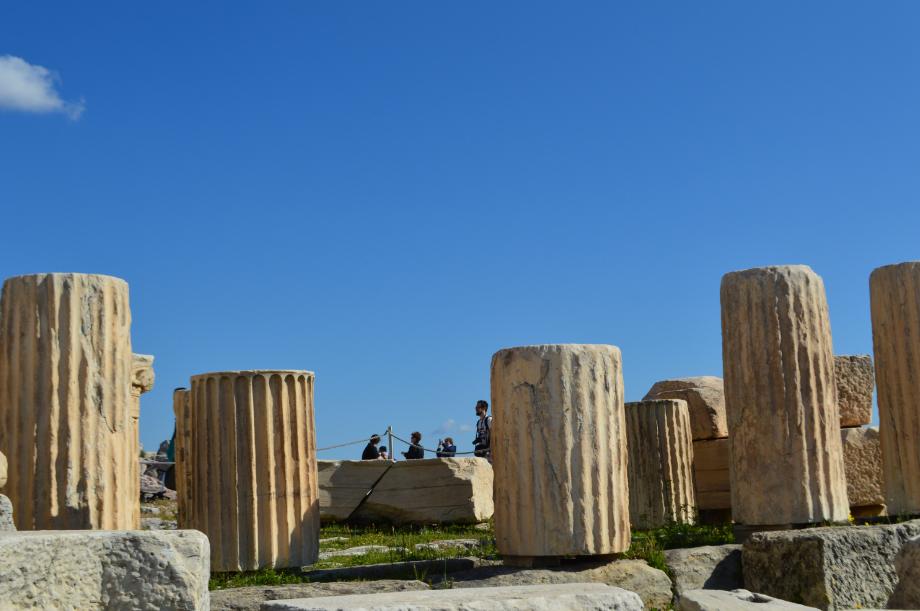 Ερείπια της Ακρόπολης των Αθηνών