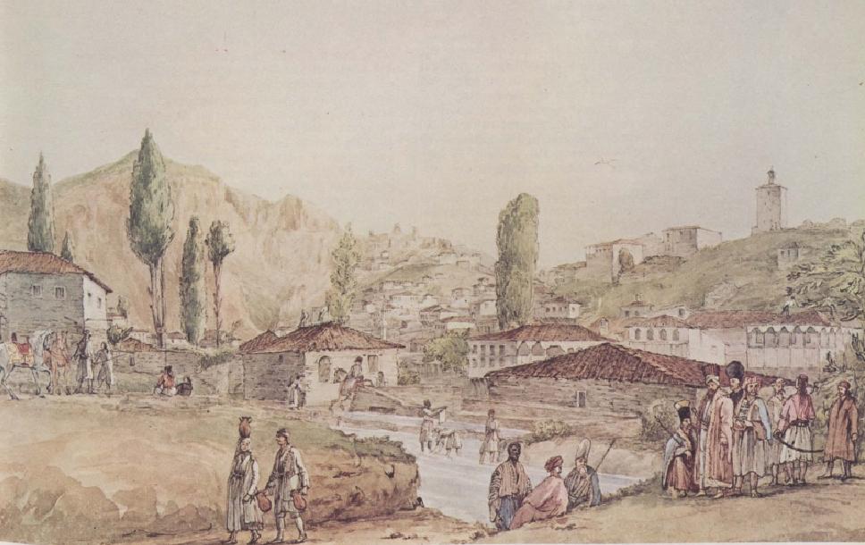 Η Λιβαδειά και ο Ελικώνας επί τουρκοκρατίας. Ιωσήφ Cartwriht. Αθήνα, Μουσείο Μπενάκη