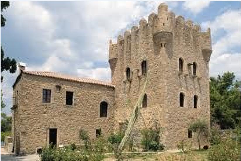 Ο πύργος των Τζανετάκηδων στη Μάνη