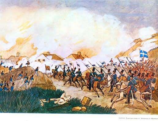 Η μάχη του Ασλάναγα στην οποία συμμετείχε και ο Χρ. Νέζερ