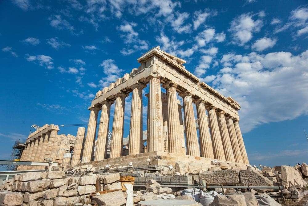 Ψηφιακή αναπαράσταση των Ακροπόλεων της Αθήνας και του Ακράγαντος