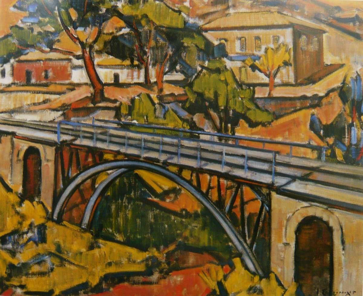 Πίνακας του Γιάννη Σπυρόπουλου