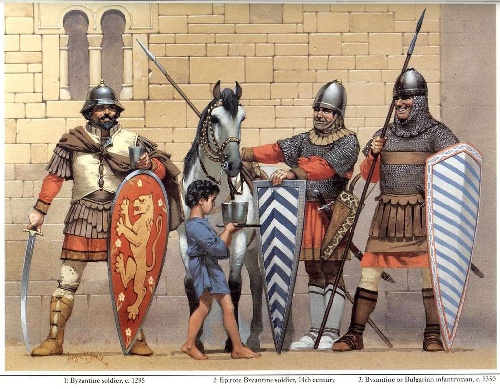 Βυζαντινοί στρατιώτες