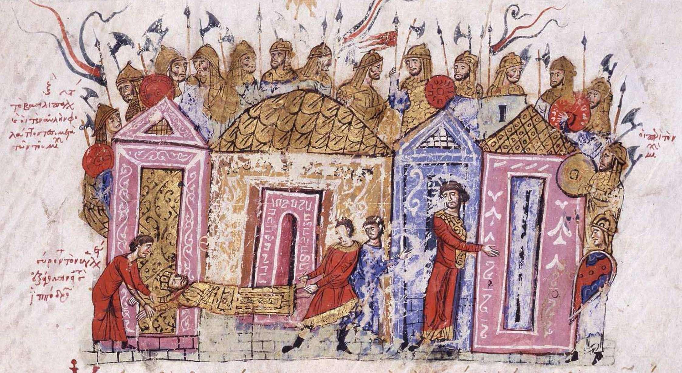 Το Τάγμα των Βαράγγων ή Τάγμα των Βαραγγίων ή και Βαραγγική Φρουρά ήταν μια επίλεκτη μονάδα του Βυζαντινού στρατού, από τον 9ο μέχρι τον 14ο αιώνα, τα μέλη των οποίων υπηρετούσαν ως προσωπική φρουρά των Βυζαντινών Αυτοκρατόρων. Η σύνθεσή τους αποτελούνταν κυρίως από Γερμανικά φύλα, κυρίως Σκανδιναβούς (το Τάγμα συστάθηκε περίπου 200 χρόνια μέσα στην περίοδο των Βίκινγς) και Αγγλοσάξονες από την Αγγλία.