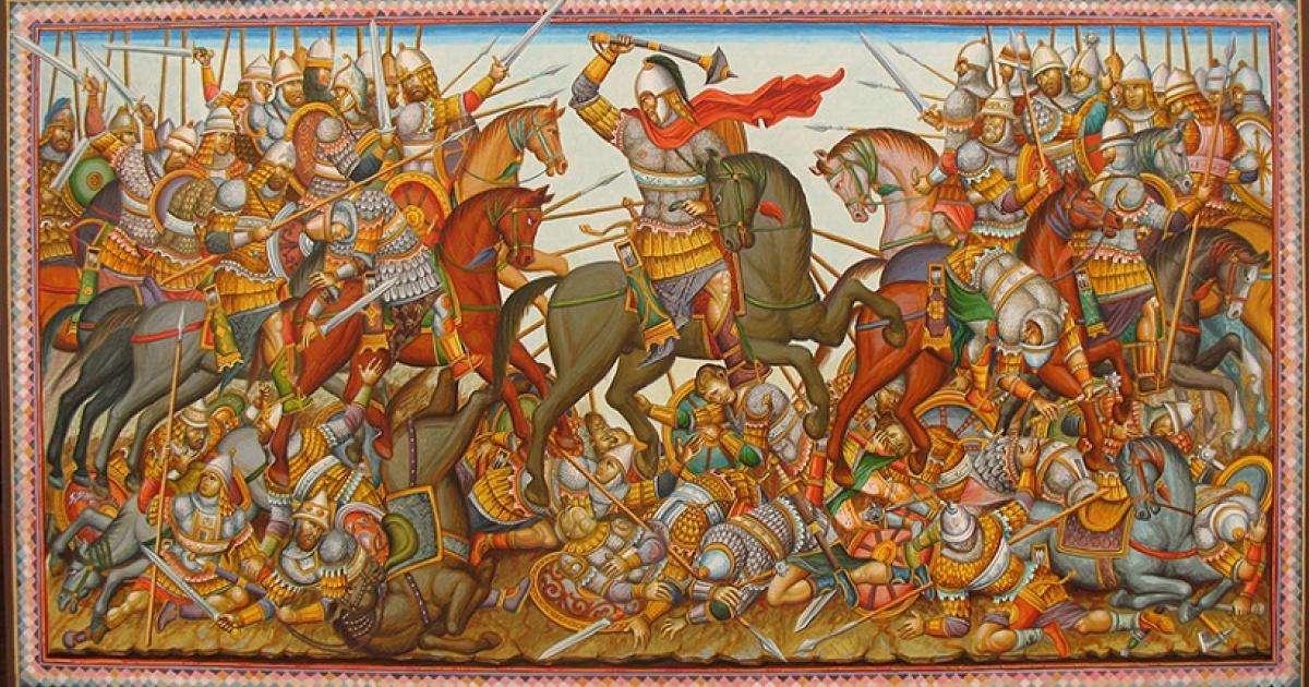 Ο Βασίλειος Διγενής Ακρίτας είναι ο γνωστότερος από τους ήρωες των ακριτικών τραγουδιών και πρωταγωνιστής ενός έμμετρου αφηγηματικού έργου του 11ου-12ου αι., το οποίο είναι γνωστό ως Διγενής Ακρίτης ή Έπος του Διγενή Ακρίτη.