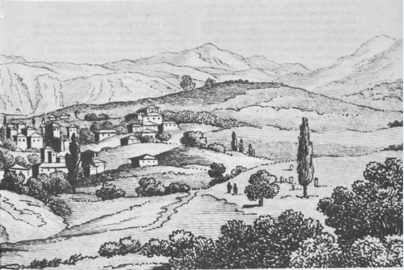Η Λαμία (Ζητούνι) στα 1820