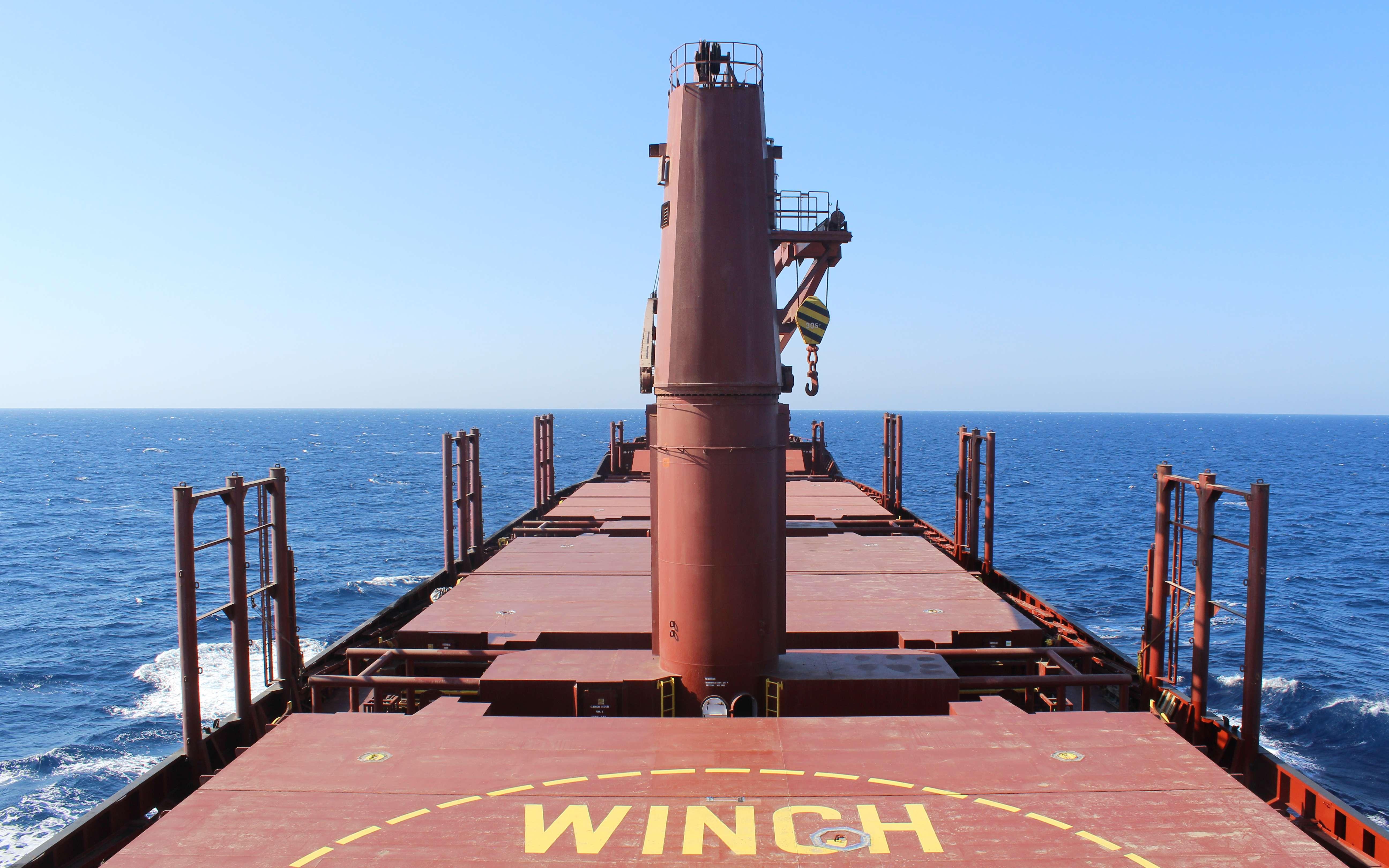 Η Χαλανδριανή ταξιδεύει στη Μεσόγειο. (Φωτογραφία: Γιάννης Παλαιολόγος)