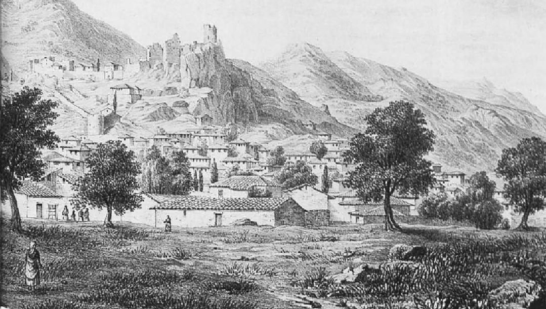 Τα Σάλωνα γύρω στα 1800