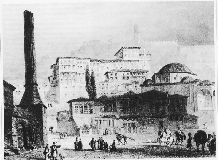 Το σεράι του πασά στο Ναύπλιο κατά την Τουρκοκρατία