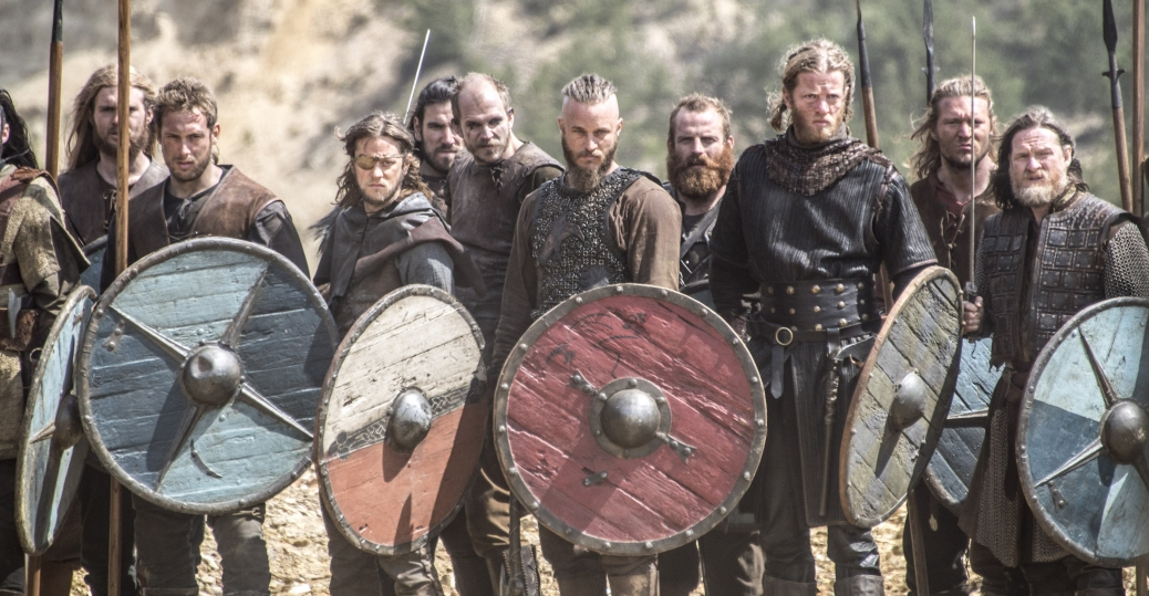 Τηλεοπτική σειρά. For the 2012 BBC Documentary series, see Vikings (TV documentary series).