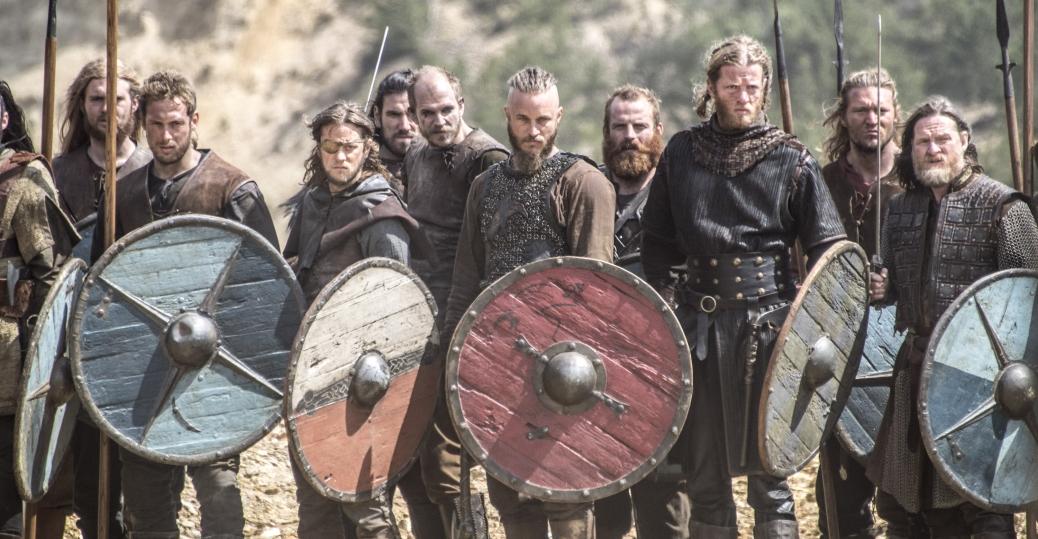 Τηλεοπτική σειρά. For the 2012 BBC Documentary series, see Vikings (TV documentary series).
