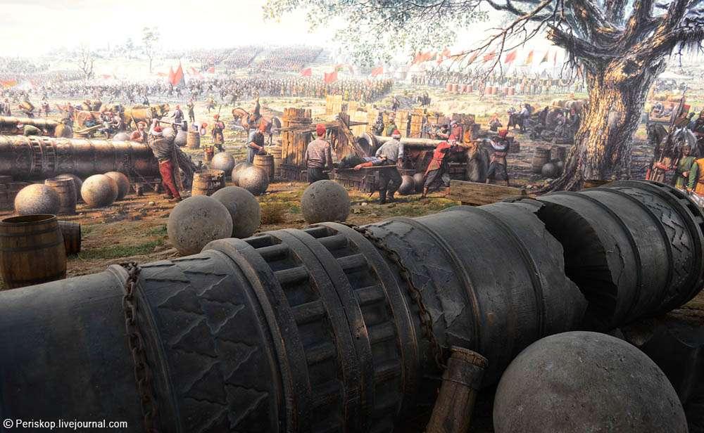 Η πολιορκία της Κωνσταντινούπολης (1453)