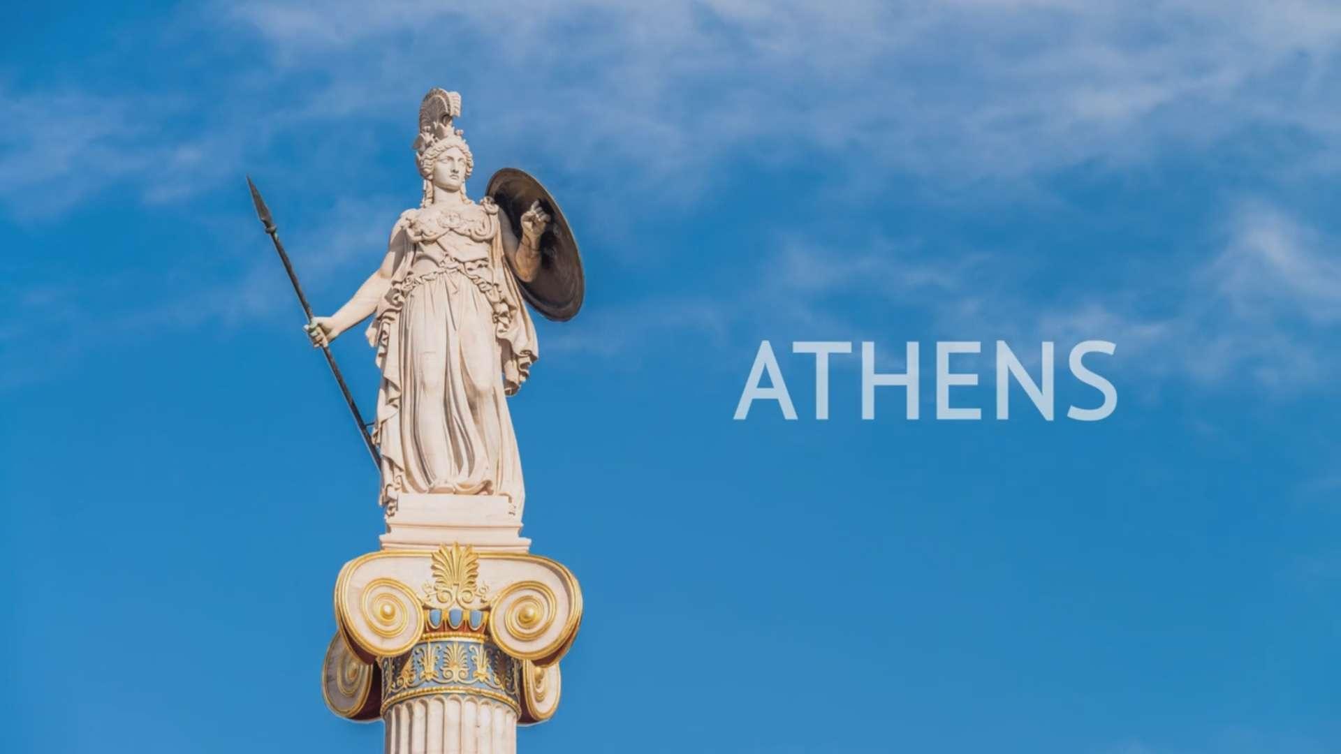 Οι αρχαιολογικοί χώροι της Αθήνας σε ένα ξεχωριστό βίντεο