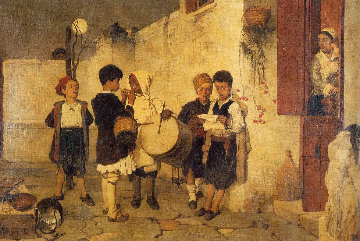 Νικηφόρος Λύτρας. Κάλαντα (1872)