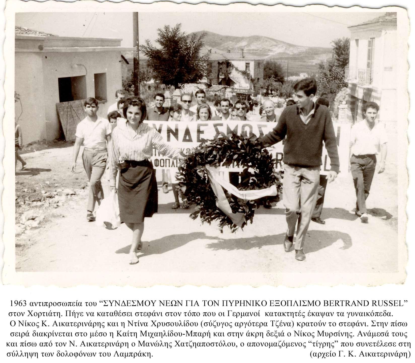 Στη μνήμη του Νίκου Αικατερινάρη (1944 – 1977)