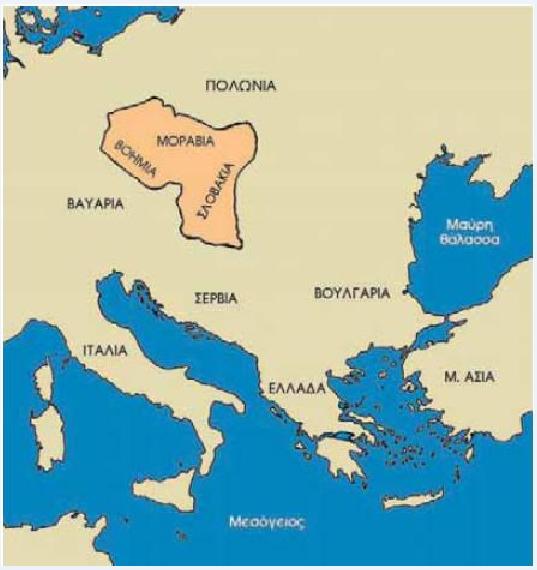 Οι περιοχές που εκχριστιάνισαν οι Άγιοι από τη Θεσσαλονίκη