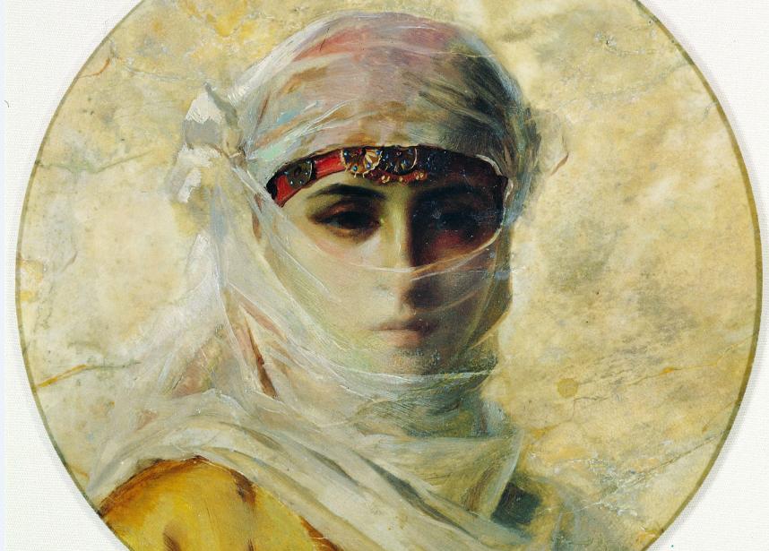 Θεόδωρος Ράλλης, Γυναίκα με πέπλο