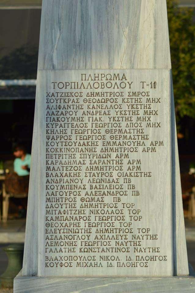 Νικόλαος Βότσης. Άγαλμα-μνημείο στον Λευκό Πύργο της Θεσσαλονίκης