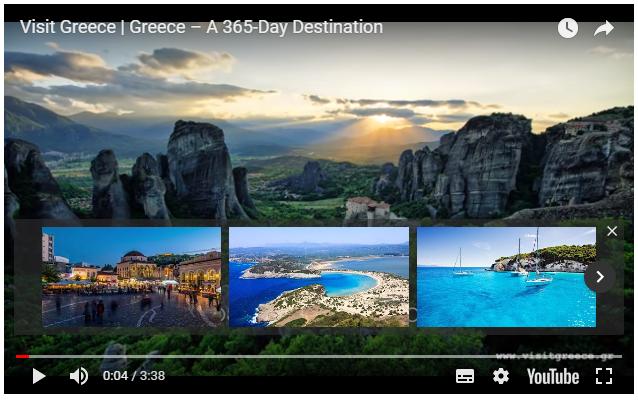 Δείτε: Το βραβευμένο βίντεο του ΕΟΤ για την Ελλάδα - «Greece- Α 365-DayDestination»