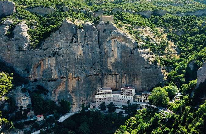 Η ιερά Μονή Μεγάλου Σπηλαίου
