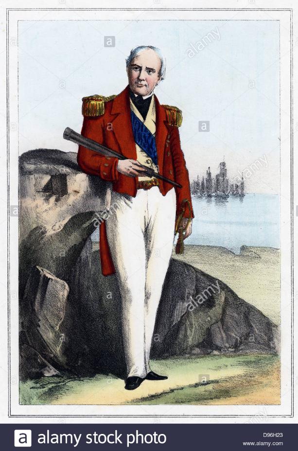 Ο πρεσβευτής της Αγγλίας στην Ελλάδα Edmynd Lyons