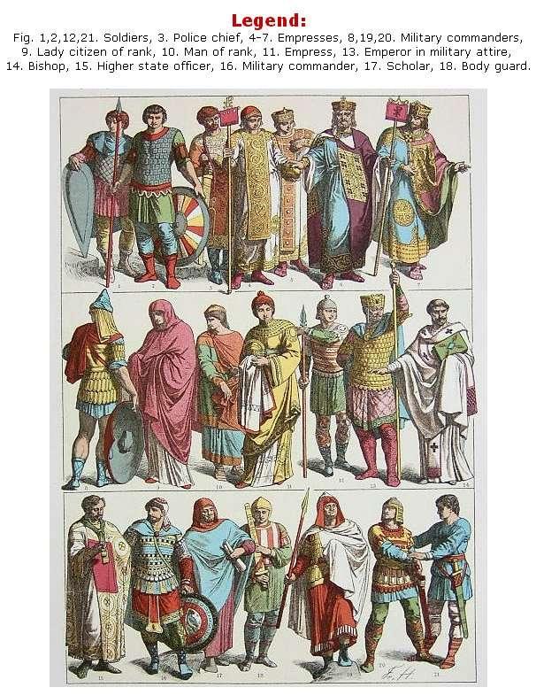 Στρατιώτες του Βυζαντίου (700-1000 μ.Χ.)