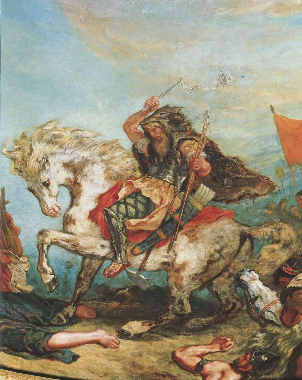 Ο Αττίλας (2 Σεπτεμβρίου 406 - 30 Απριλίου 453) ήταν βασιλιάς των Ούννων από το 434 έως το θάνατό του το 453. Ήταν ηγέτης της αυτοκρατορίας των Ούννων, μίας φυλετικής συνομοσπονδίας αποτελούμενης, μεταξύ άλλων, από Ούννους, Οστρογότθους και Αλανούς, στο έδαφος της κεντρικής και ανατολικής Ευρώπης.