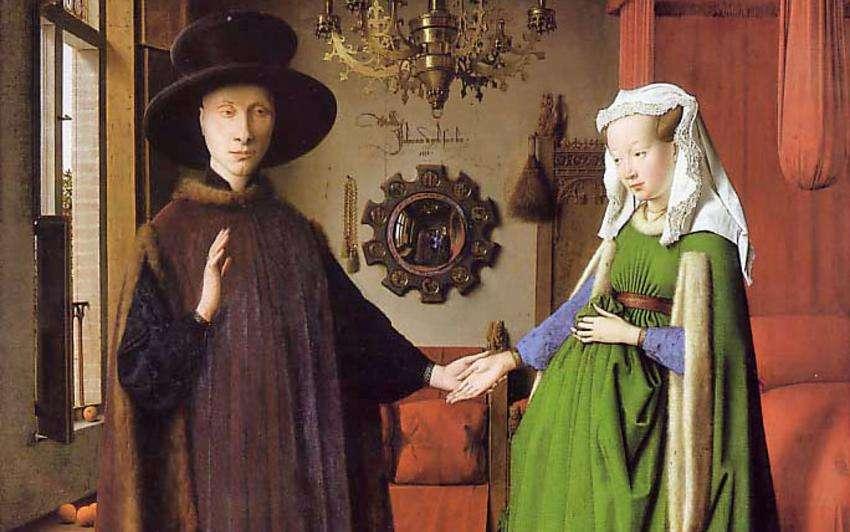 Jan van Eyck, Ζεύγος Arnolfini