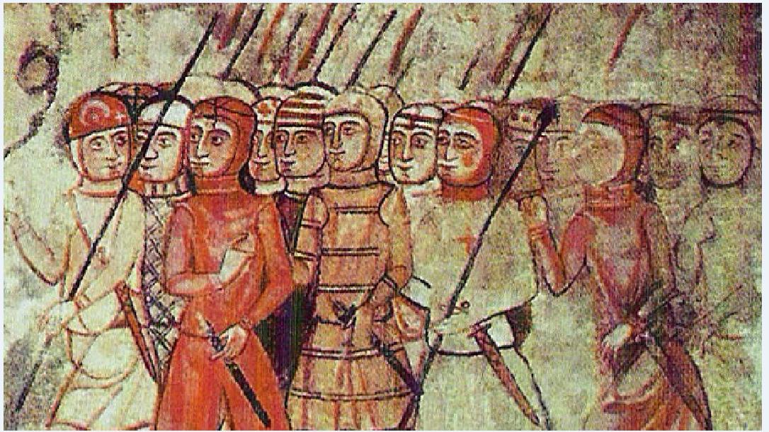 Η «Μεγάλη Εταιρία των Καταλανών» Καταλανοί στρατιώτες σε απεικόνιση εποχής