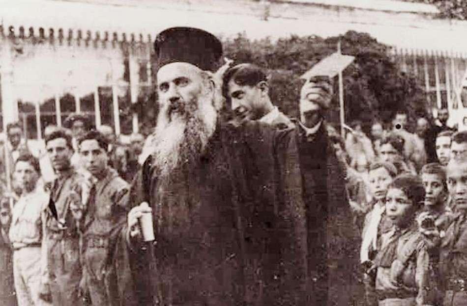 Ο Χρυσόστομος Καλαφάτης (8 Ιανουαρίου 1867, Τρίγλια Μικράς Ασίας - 27 Αυγούστου 1922, Σμύρνη) ήταν Έλληνας Μικρασιάτης θεολόγος και ιεράρχης καθώς και Μητροπολίτης Σμύρνης.