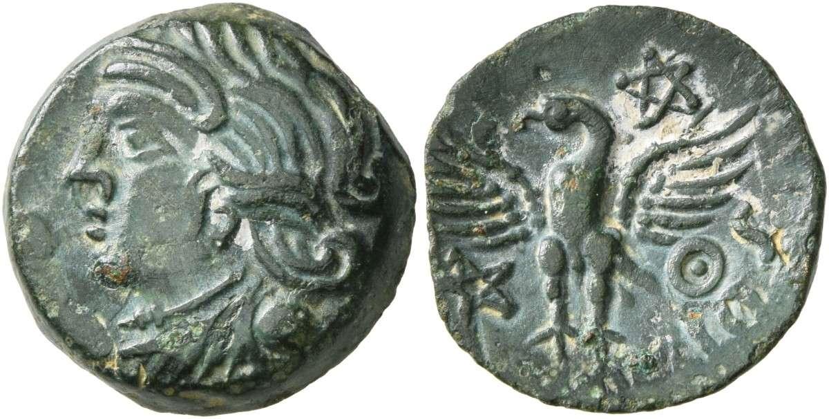 Κέλτικο νόμισμα. CELTIC, Northwest Gaul. Carnutes. Vandiilos, Before 52 BC.