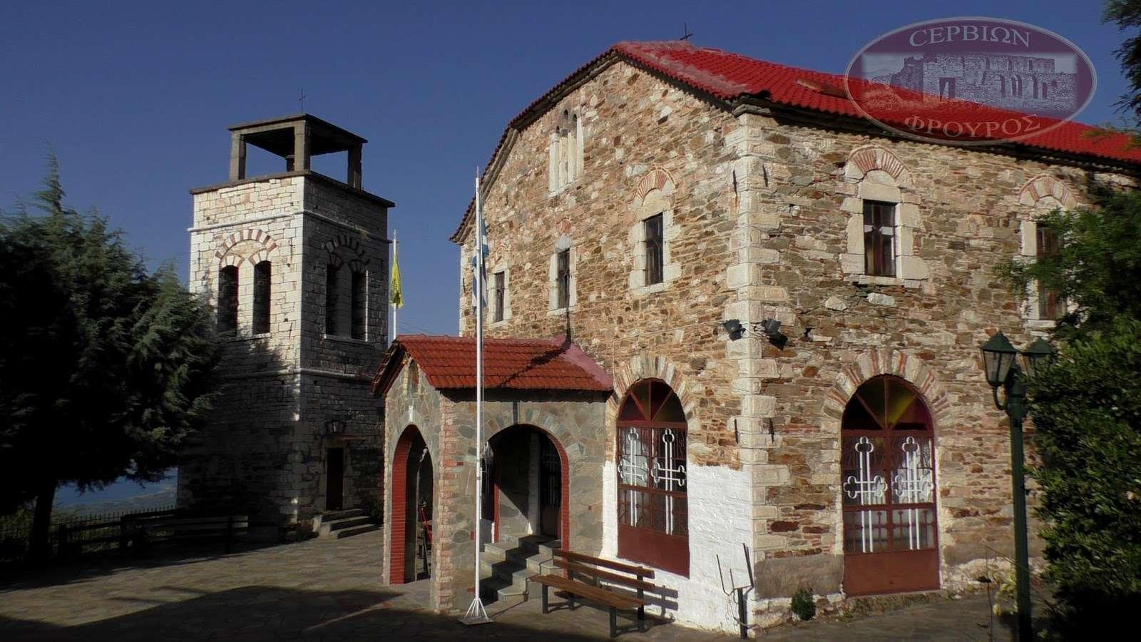 Εκκλησία στην Καστανιά Σερβίων