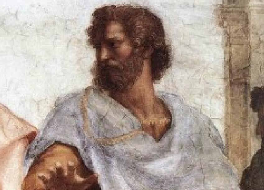 Ο Αριστοτέλης (αρχ.: Ἀριστοτέλης, 384 π.Χ. - 322 π.Χ.) ήταν αρχαίος Έλληνας φιλόσοφος και επιστήμονας που γεννήθηκε στα Στάγειρα της Χαλκιδικής στη βόρεια περιφέρεια της κλασικής Ελλάδας.