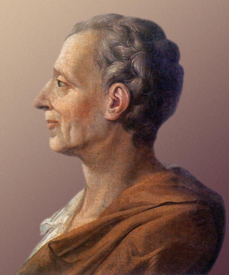 Ο Σαρλ Λουί ντε Σεκοντά, Βαρόνος της Μπρεντ και του Μοντεσκιέ (Charles-Louis de Secondat, Baron de La Brède et de Montesquieu) κοινώς γνωστός ως Μοντεσκιέ, ήταν Γάλλος συγγραφέας και φιλόσοφος του Διαφωτισμού.
