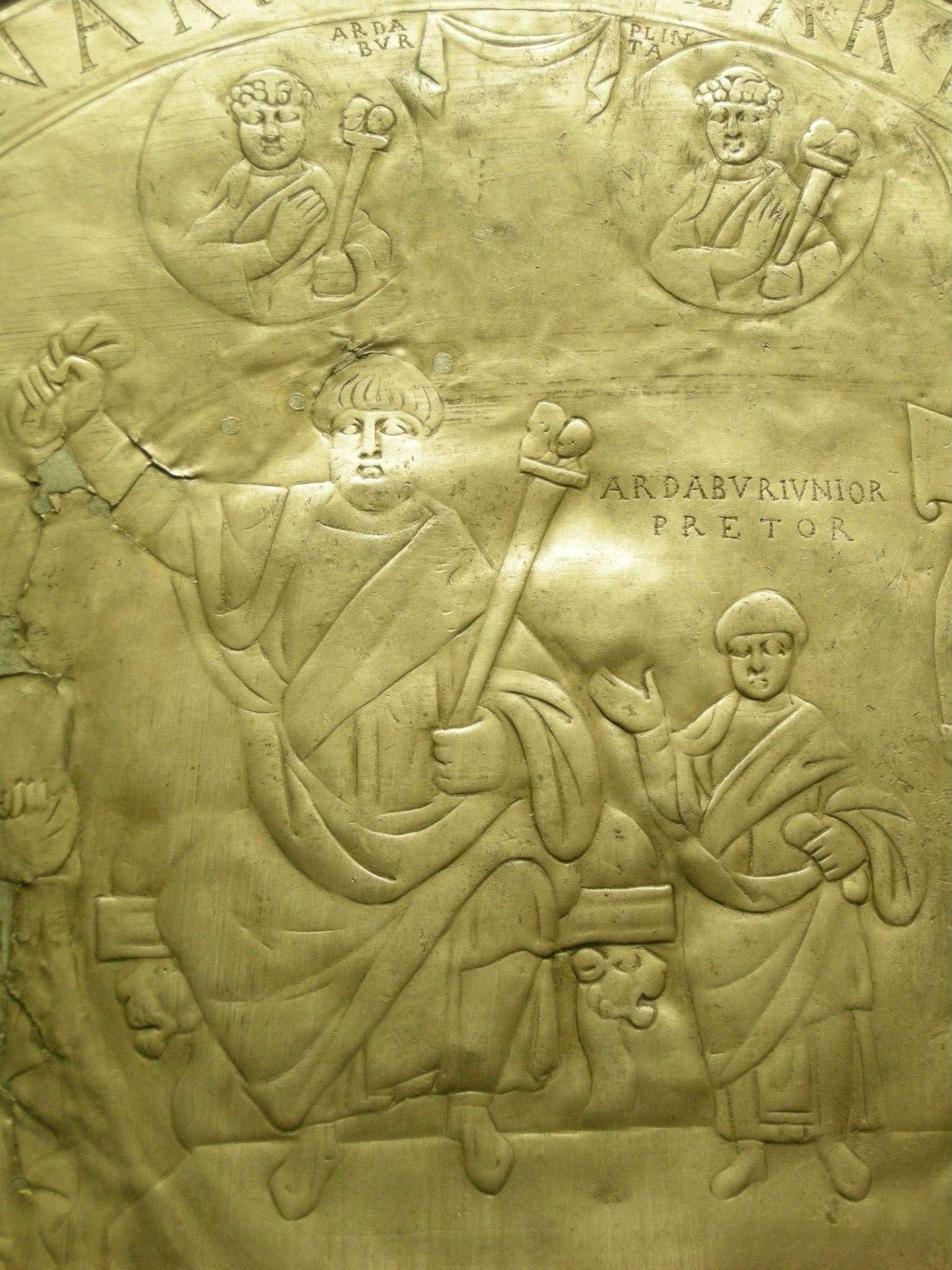 Ο Φλάβιος Αρδαβούριος Άσπαρ (π. 400 - 471) ήταν Γερμανός πατρίκιος της ανατολικής αυτοκρατορίας και, ως στρατηγός Γερμανών μισθοφόρων σε Ρωμαϊκή υπηρεσία, είχε σημαντική επιρροή στις αποφάσεις τριών αυτοκρατόρων (Θεοδόσιο Β΄, Μαρκιανό, Λέων Α΄).