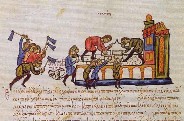 Ως πρώτο μέτρο ο Ρωμανός Λακαπηνός εξέδωσε - μάλλον τον Απρίλιο του 922 - μια Νεαρά, η οποία αποκαθιστούσε το δικαίωμα των γειτόνων να προηγούνται στην αγορά των κτημάτων, πράγμα που είχε περιορίσει ο Λέων ΣΤ', δίνοντας έτσι νέα και σαφέστερη έκφραση στο σύστημα της «προτιμήσεως».