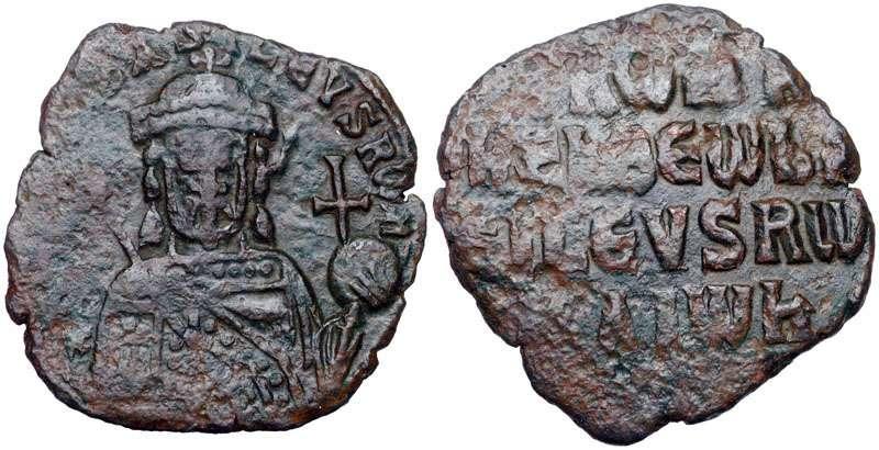 Νόμισμα με την μορφή του Ρωμανού