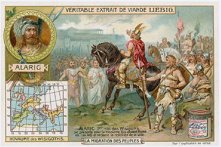 Ο Αλάριχος Α΄, επίσης γνωστός και ως Αλάριχος ο Μέγας (γερμανικά: Alarik, λατινικά: Alaricus, περ. 370 - 410), ήταν αρχηγός των Βησιγότθων (395-410). Alaricus A, also known as Alaricus the Great (German: Alarik, Latin: Alaricus, c. 370-410), was the leader of the Visigoths (395-410).