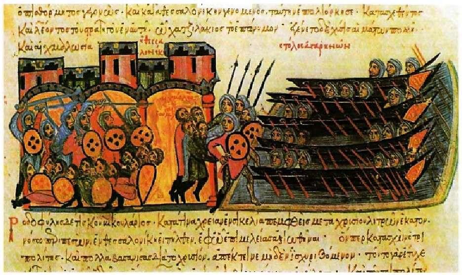 Η Άλωση της Θεσσαλονίκης το 904 από τους Σαρακηνούς πειρατές ήταν μία από τις χειρότερες καταστροφές που βρήκαν την Βυζαντινή Αυτοκρατορία στην διάρκεια του 10ου αιώνα.