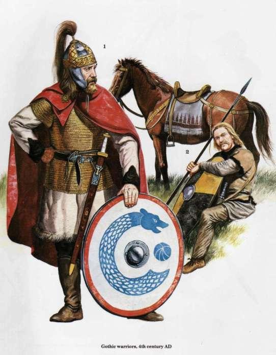Βησιγότθος πολεμιστής. Cossack Warrior.