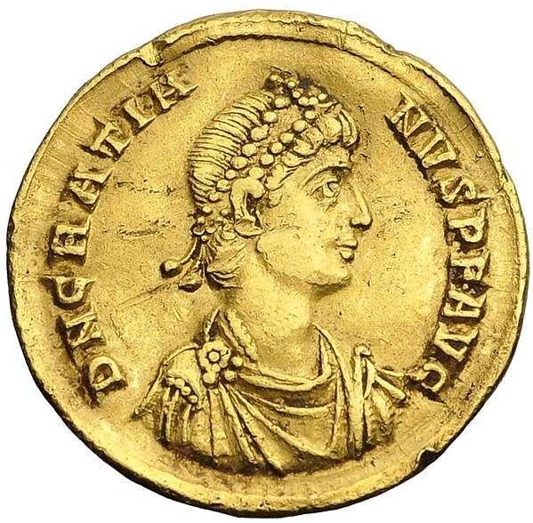 Ο Γρατιανός υπήρξε αυτοκράτορας του δυτικού ρωμαϊκού κράτους. Ήταν γιος του Ουαλεντινιανού Α΄ και κυβέρνησε από το 375 μέχρι το 383.