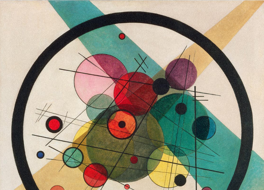 Wassily Kandinsky, Circles in a circle