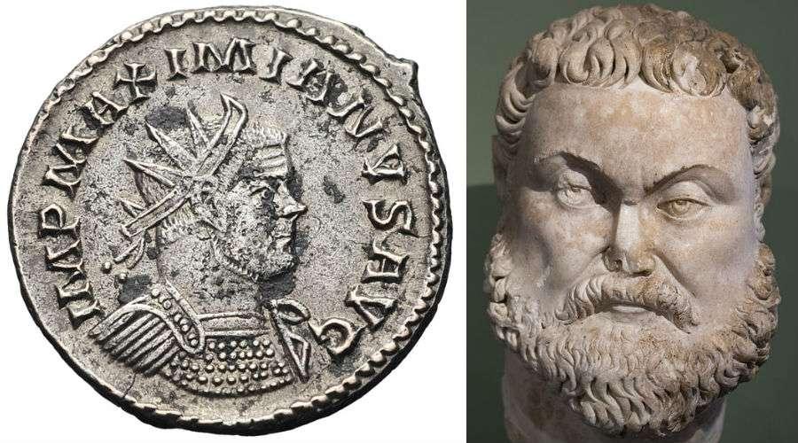 Ο Μαξιμιανός (Μάρκος Αυρήλιος Βαλέριος Μαξιμιανός Ηρακλής, Marcus Aurelius Valerius Maximianus Herculius[2], 250 - Ιούλιος 310) ήταν Ρωμαίος αυτοκράτορας από το 285 έως το 305.