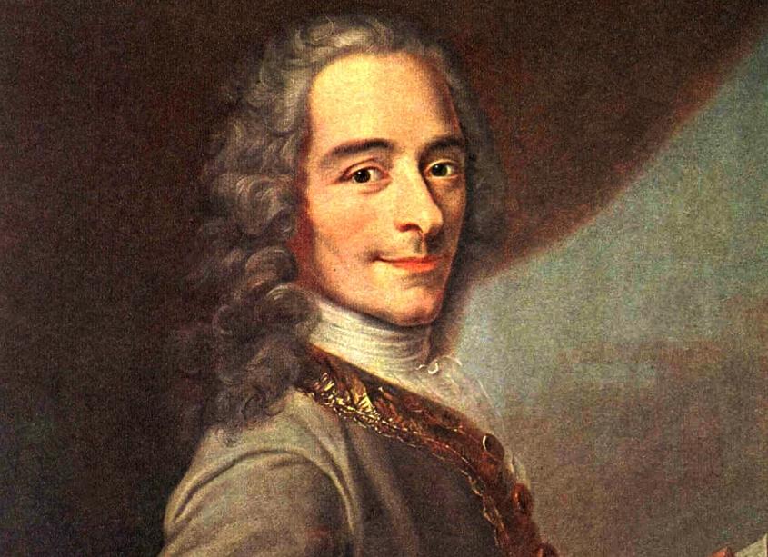 Ο Φρανσουά Μαρί Αρουέ (François-Marie Arouet, 21 Νοεμβρίου 1694 – 30 Μαΐου 1778), ευρύτερα γνωστός με το ψευδώνυμο Βολταίρος (Voltaire), ήταν Γάλλος συγγραφέας, ιστορικός και φιλόσοφος