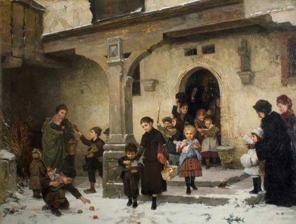 Χριστουγεννιάτικα δώρα- Hugo Oehmichen – 1882