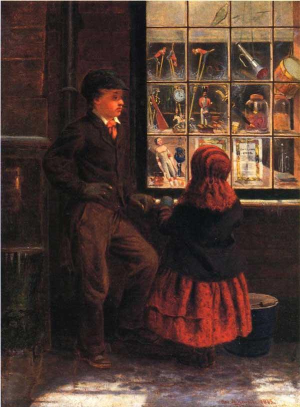 Παραμονή Χριστουγέννων – George H.Yewell – 1863
