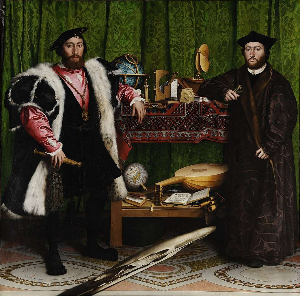 Hans Holbein, The Ambassadors